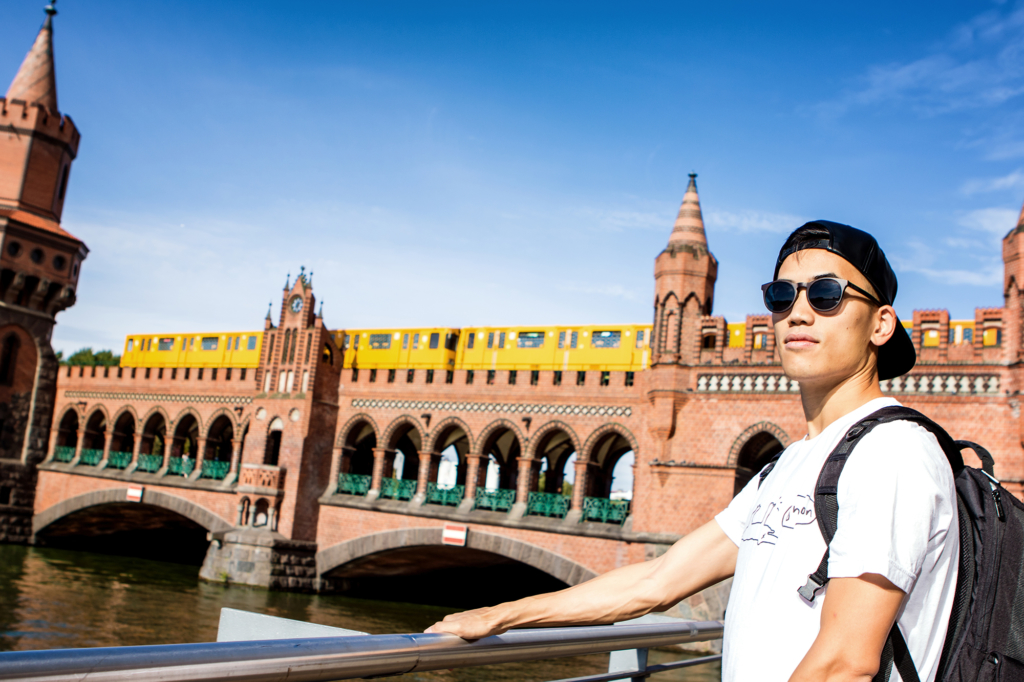 Andrew Huang in Berlin by Yvonne Hartmann - editorial photography