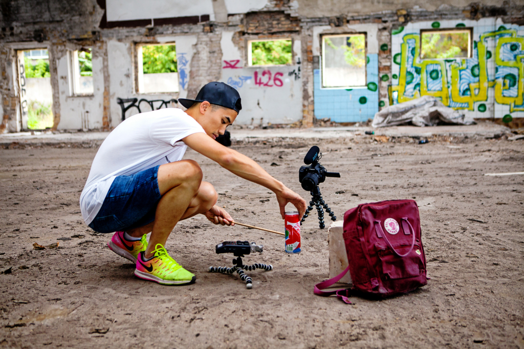 Field recordings with Andrew Huang by Yvonne Hartmann - editorial photography