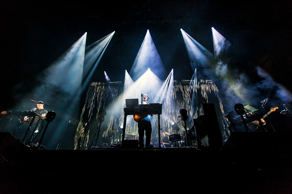 Bon Iver live at Max-Schmeling-Halle Berlin by YvonneHartmann