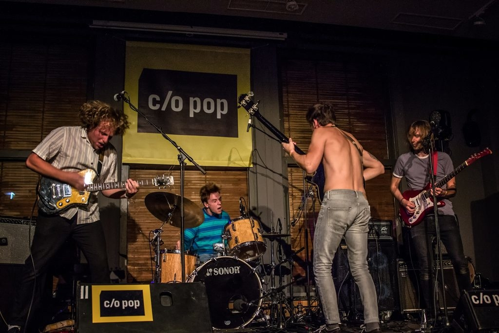 Iguana Death Cult live at CO/POP Festival 2018 by Yvonne Hartmann