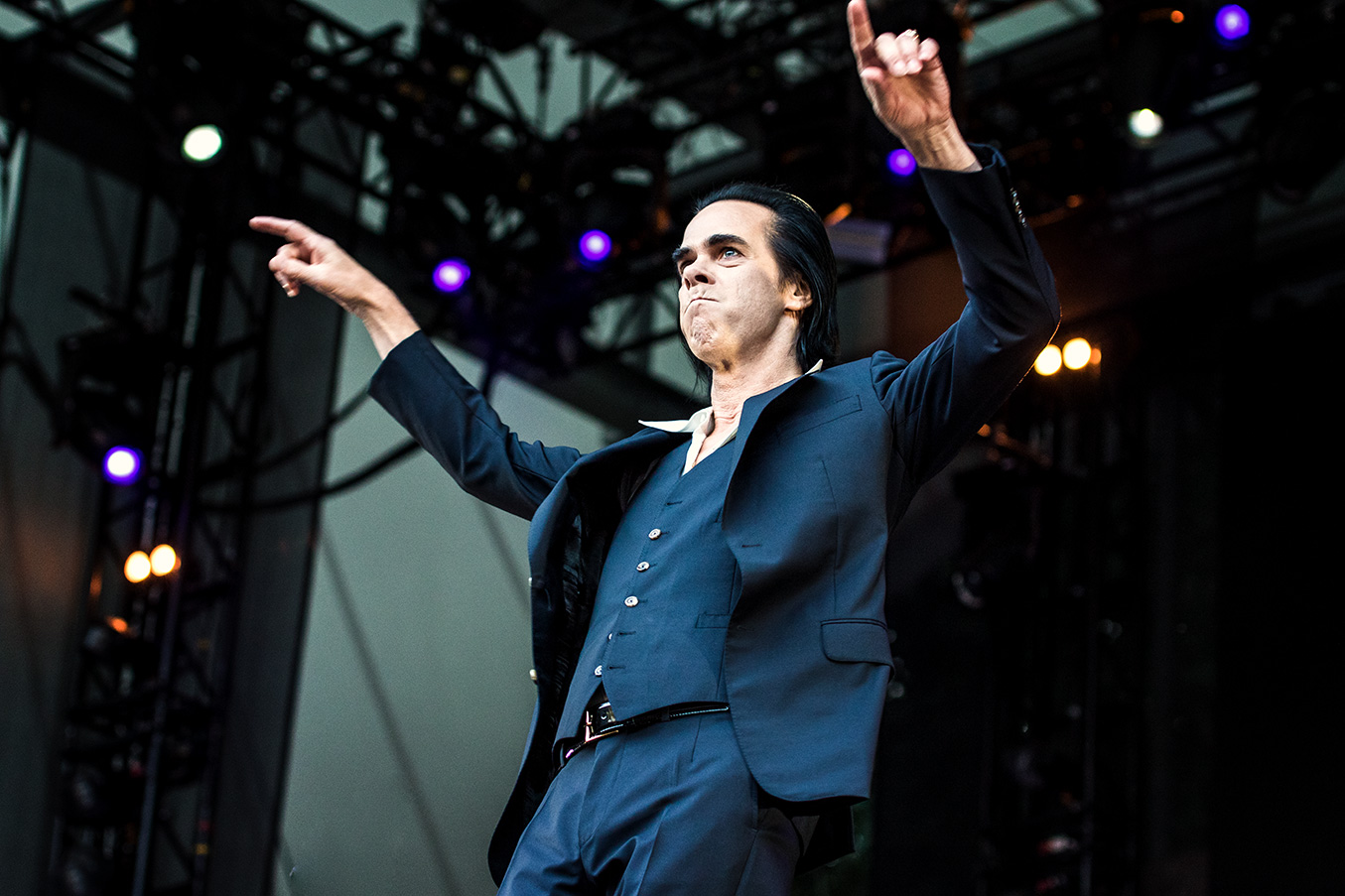 Nick Cave live in Berlin by Yvonne Hartmann - concert phtography