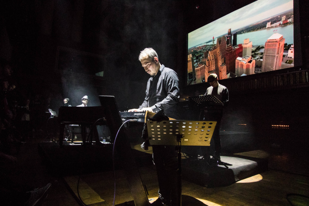 Carl Craig Synthesizer Ensemble live at Funkhaus Berlin by Yvonne Hartmann