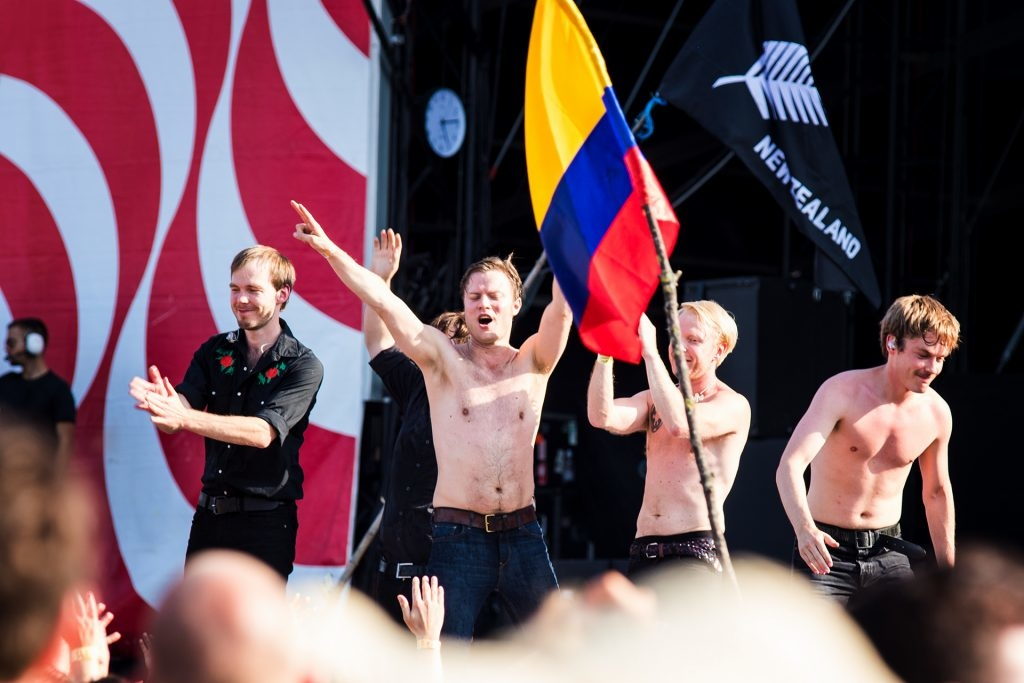 Mando Diao live at Sziget Festival 2017 by Yvonne Hartmann