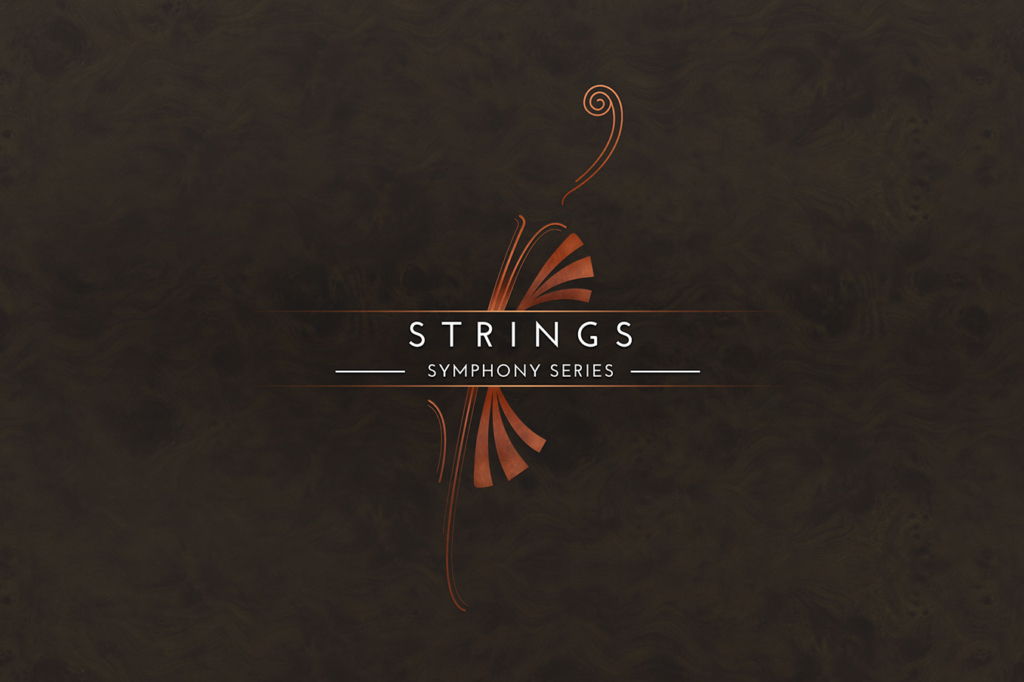 Artwork design for a Native Instruments Komplete Instrument Symphone Series Strings by Yvonne Hartmann - product artwork