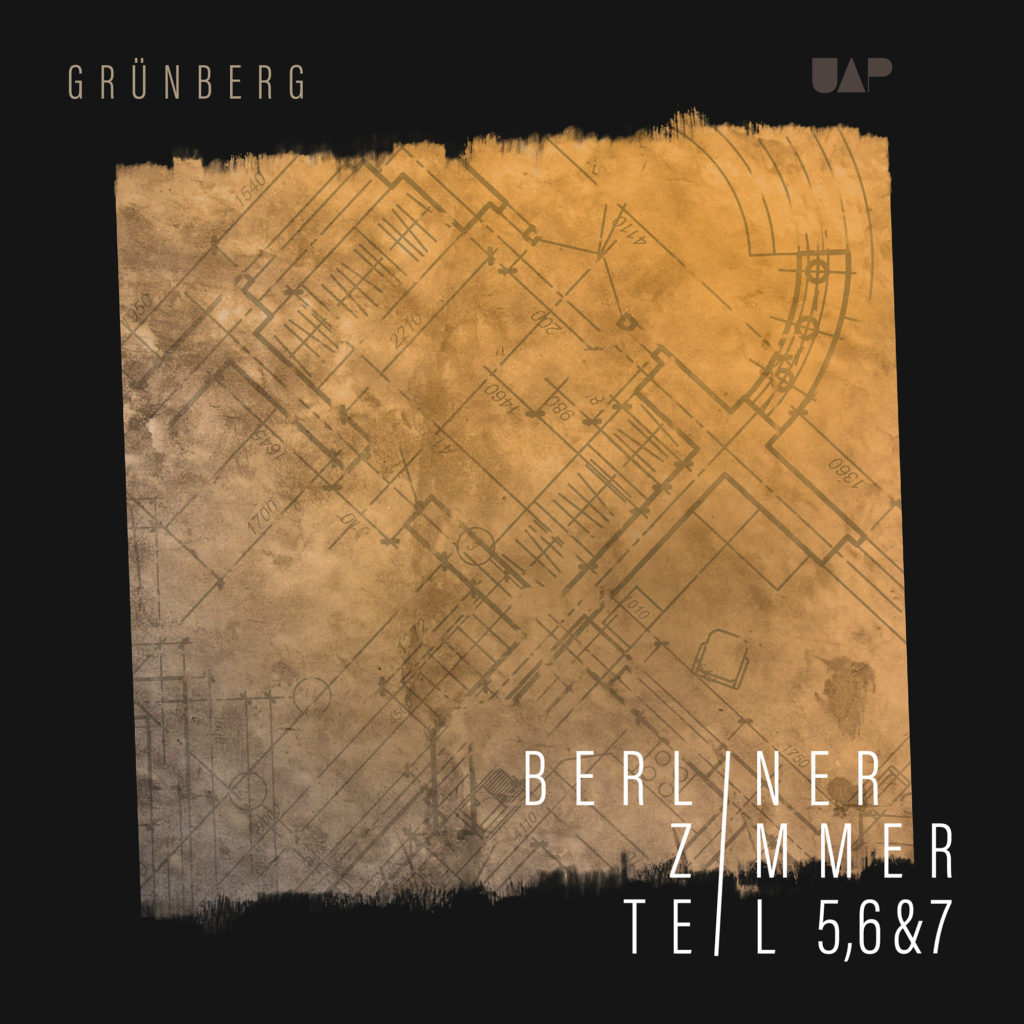 Record cover design for Grünberg by Yvonne Hartmann