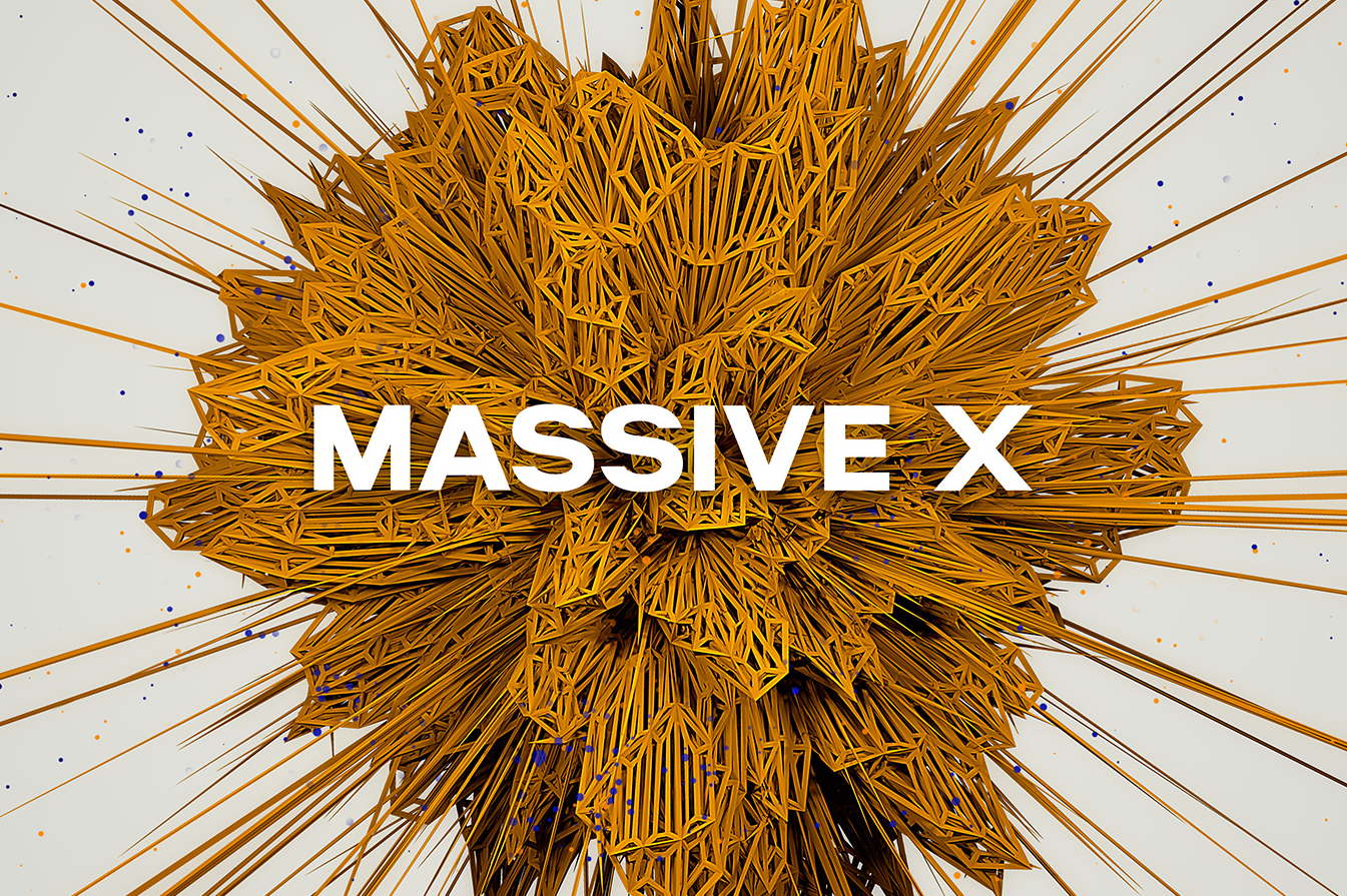Artwork design for a Native Instruments' Massive X by Yvonne Hartmann - product artwork