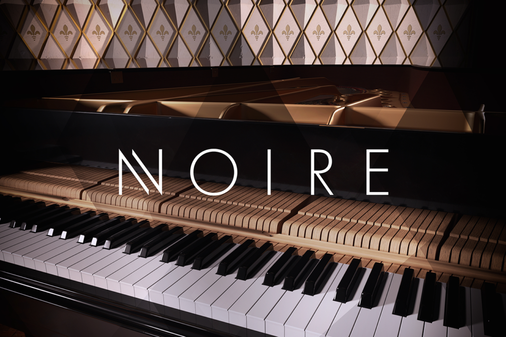 Campaign Design for Native Instruments' Noire by Yvonne Hartmann